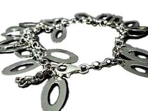 【送料無料】ブレスレット カフシルバーペンダントブレスレットシルバーコーラルドロップbracciale donna argento 925 gocce ovali ftc ciondolo bracelet silver ws corallo