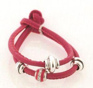 【送料無料】ブレスレット bracciale cuoio e argento 925000 art brp162r