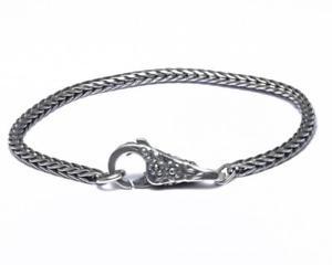 【送料無料】ブレスレット カフシルバーレーススタートtrollbeads bracciale start con chiusura merletto in argento taglo00028 br
