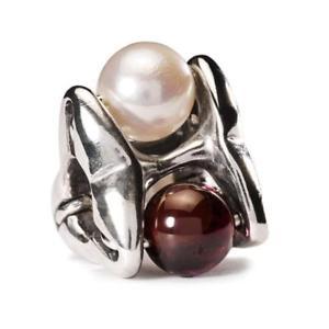 【送料無料】ブレスレット ビードtrollbeads bead in argento pura passione tagbe00096