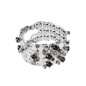 【送料無料】ブレスレット ブレスレットbracciale con cristalli ottaviani bijoux 500186b