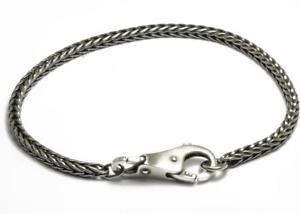 【送料無料】ブレスレット カフシルバーtrollbeads bracciale start con chiusura semplice in argento taglo00034 br