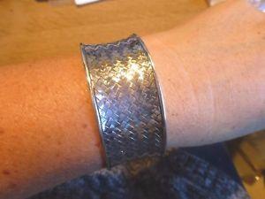 【送料無料】ブレスレット ブレスレットマンシェットアルジェントmagnifique bracelet manchette ethnique en argent 925 tress poinon
