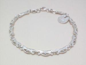 【送料無料】ブレスレット シルバーブレスレットbracciale uomodonna in argento 925 fatto a mano b117
