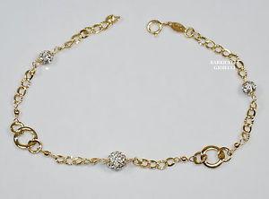 【送料無料】ブレスレット ブレスレットイエローゴールドbracciale oro giallo 18 kt donna 20 cm gr 1,6 sottocosto