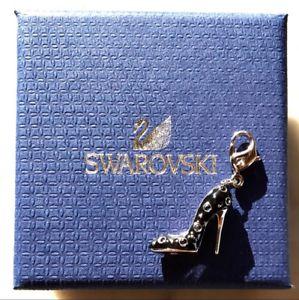 【送料無料】ブレスレット オリジナルスワロフスキーブートカフリンクスswarovski originale bracciale a maglie con charms stivaletto scarpa teschio