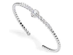 【送料無料】ブレスレット シルバーカフコレクションブリリアントbracciale donna morellato collezione tesori in argento saiw07 brillanti bling