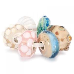 【送料無料】ブレスレット ガラスオアシスビーズtrollbeads 6 beads in vetro set oasi tglbe00018