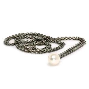 【送料無料】ブレスレット ネックレスシルバーtrollbeads original collana dargento con perla tagfa0001900025