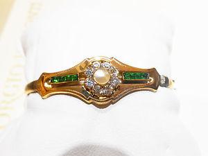 【送料無料】ブレスレット ゴールドブレスレットアンティークゴールドbracciale oro antico antique gold 12 kt