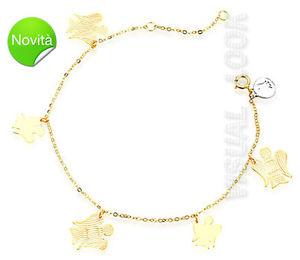 【送料無料】ブレスレット bracciale angeli roberto giannotti nkt218g