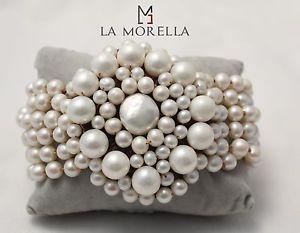 【送料無料】ブレスレット ブレスレットパールブレスレットbracciale con madreperla bracelet with mother of pearls nuovi