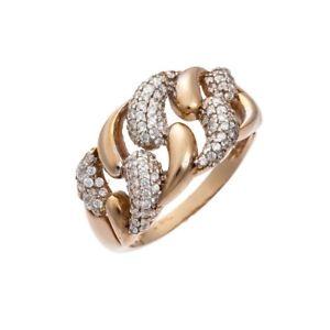 【送料無料】ブレスレット リングホワイトゴールドレッドanello donna oro bianco e rosso con zirconi 3955v164j