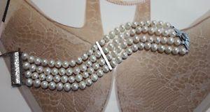 coltivate ワイヤシルバーカバーブレスレットbellissimo in chiusura a argento fili bracciale perle 4 【送料無料】ブレスレット in 925