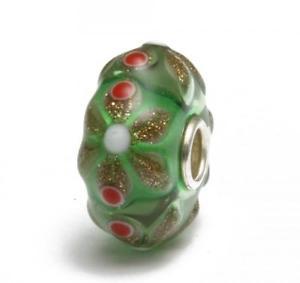 【送料無料】ブレスレット クリスマスtrollbeads original authentic limited edition edizione limitata natale 1 verde
