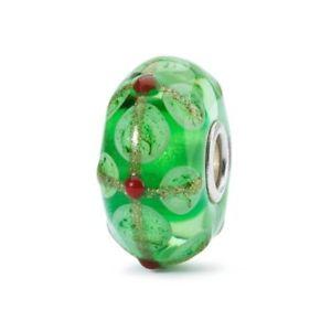 【送料無料】ブレスレット オリジナルクリスマスグリーンtrollbeads original authentic edizione limitata natale limited edition verde