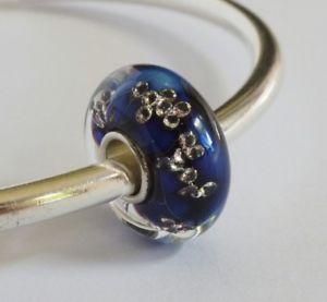 【送料無料】ブレスレット ガラスビーズモンローキューエルフoriginal elfbeads, retired glass bead *ocean monroe*, code elf2072