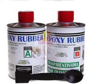 【送料無料】ブレスレット エポキシゴムゴムプラスチック prochima epoxy rubber resina effetto plastico gommoso 11 1kg ab