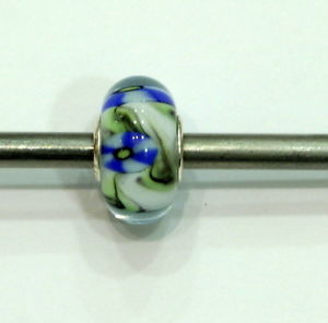 【送料無料】ブレスレット ガラスtrollbeads original authentic ooak unici unique glass small and beautiful 18