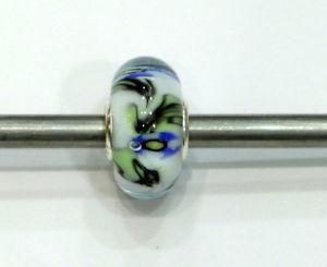 【送料無料】ブレスレット ガラスtrollbeads original authentic ooak unici unique glass small and beautiful 4
