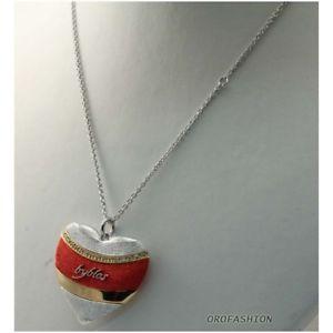 【送料無料】ブレスレット ネックレスビブロスcollana byblos acciaio, rossa 9502 lunghezza 50cm