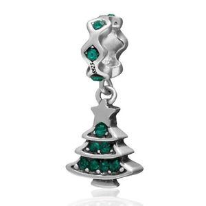 【送料無料】ブレスレット メリークリスマスツリーペンダントオーストリアsoulbead decorato merry albero di natale ciondolo con cristalli austriaci i3r