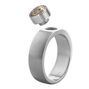 【送料無料】ブレスレット ステンレススチールトランスミッションマットリングリングmelano anello in acciaio inox 6 mm larga dimensione 62 matt 01sr4065a solo anello di cambio