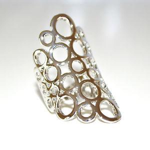 【オープニング 大放出セール】 【送料無料】ブレスレット anello donna argento oro dorato fedina fascetta elegante anelli san valentino 11, 天城わさびの里 f63e098b