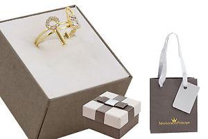 【送料無料】ブレスレット ※リングパドロックキーゴールドダブル*pll* anello donna doppio con lucchetto e chiave mp13839 color oro tg18