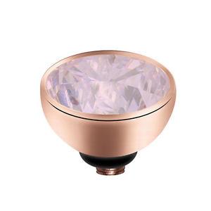 【送料無料】ブレスレット ピンクリングブレスレットツイストtwisted by melano ros milk rosa 8 mm 01sr5012 versione meddy anello o bracciale