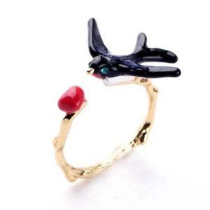 【送料無料】ブレスレット レパリリングエッフェルパリイヤリングスワローles nereides paris anello donna rondine eiffel parigi regalo orecchini swallow