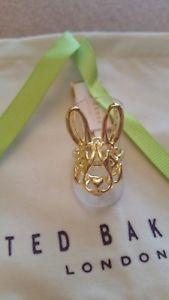 【送料無料】ブレスレット テッドベイカーバニーted baker doro anelli con coniglietto geometrico sm nuovo