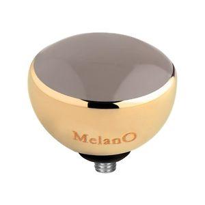 【送料無料】ブレスレット バージョンリングツイストtwisted by melano versione meddy 8 mm m 01sr5041 g taupe resin per anello armeif