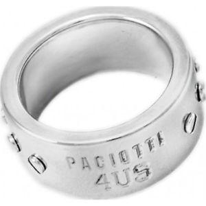 【送料無料】ブレスレット スチールリングpaciotti 4us anello acciaio uomo donna 4uan0077 misura 22