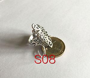 【送料無料】ブレスレット anello da donna in argento 925 decorato gr491 silver ring