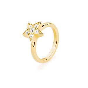 【送料無料】ブレスレット イエローゴールドanello da donna brosway tring stella acciaio pvd oro giallo e cristalli mis 14