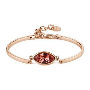 【送料無料】ブレスレット カフチャクリスタルピンクbracciale brosway chakra bhk79 cristallo rosa