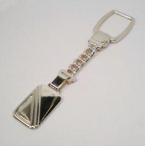 【送料無料】ブレスレット キーチェーンシルバービンテージタルportachiavi argento 925 vintage anno 1995 targa lunghezza 10 cm 30266