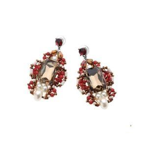 【送料無料】ブレスレット イヤリングクリスタルorecchini ottaviani perle, cristalli, strass 49289