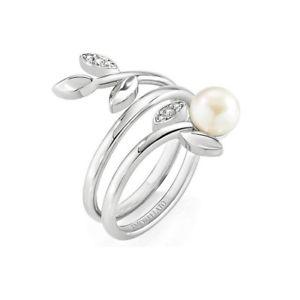 【送料無料】ブレスレット リングジョイスチールビーズanello morellato gioia acciaio perle e cristalli saer26 mis 14