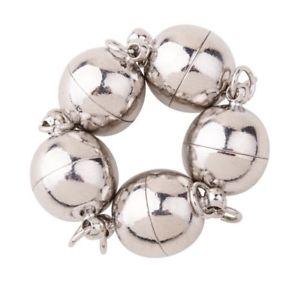 【送料無料】ブレスレット セットキャップキャップネックレスブレスレットpandahall 5 set chiusure magnetiche chiusure collana braccialetti in y3a