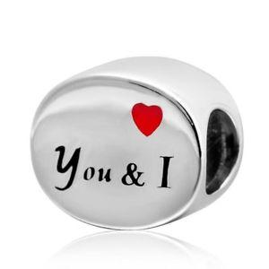 【送料無料】ブレスレット ハートsoulbead you con cuore rosso e i charm in argento sterling 925a forma b5q