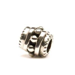 【送料無料】ブレスレット シルバーオリジナルビーズtrollbeads original authentic bead in argento ritirati sandi tagbe10002