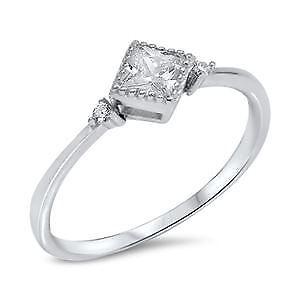 【送料無料】ブレスレット スターリングシルバーリングsterling silver cz anello