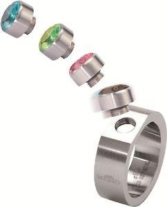 【送料無料】ブレスレット ステンレススチールマットトランスミッションリングリングmelano anello in acciaio inox 8 mm larga dimensione 62 matt 01sr4065a solo anello di cambio