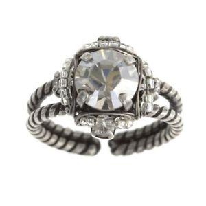 【送料無料】ブレスレット ビザンチンリングアンティークシルバーkonplott anello byzantine bianco argento antico
