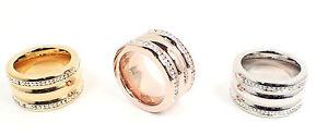 【送料無料】ブレスレット シルバーローズゴールドモダンステンレススチールリングリングanello in acciaio inossidabile anello da donna 9mm argento rose gold modern