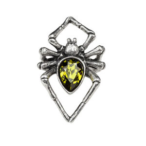 【送料無料】ブレスレット ゴシックリングエメラルドクリスタルグリーンクモジュエルgenuine alchemy gothic anello smeraldo venom donna verde di cristallo spider jewell