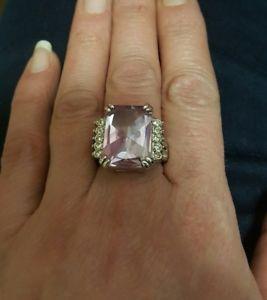 【送料無料】ブレスレット anello acciaio vintage cristalli incastonati mis 16