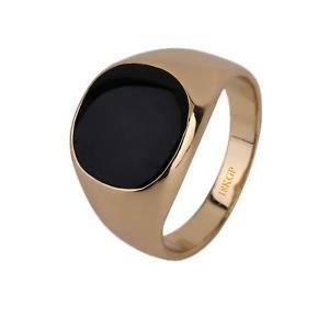 【送料無料】ブレスレット シールリングマンオニキスゴールドkゴールドピンクゴールドリングanello con sigillo anello uomo onice nero 750er oro 18k dorato oro rosa r2840s